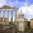 The roman forum in Rome — Stock Photo