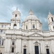 Saint Agnese in Agone church in Rome - Stock Photo