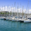 Yacht port in Barcelona — Stock Photo #5520589