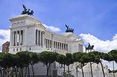 Monument of Victor Emmanuel II — Zdjęcie stockowe