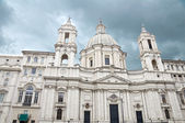 Saint Agnese in Agone church in Rome — Stock Photo