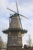 Windmill in Amsterdam — Stock Photo