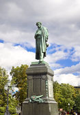 Pushkin Monument — Stock Photo