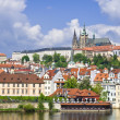 Prague castle (Prazsky hrad) — Stock Photo