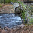 Royalty-Free Stock Photo: River Bridge HDR