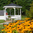Stock Photo: Wedding Gazebo.