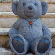 Marble statue of a Teddy Bear — Stock Photo #5443014