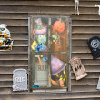 Haunted house window — Stock Photo