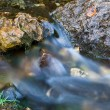 Smooth River Stream - Stock Photo