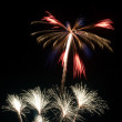 Stock Photo: Forth of July Fireworks