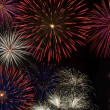Stock Photo: Independence Day Fireworks