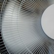 Fan in Motion. Front View. — Stock Photo