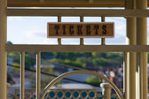 Ticket Sign — Stock Photo