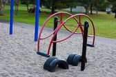 Teeter Totter in the playground. — Stock Photo