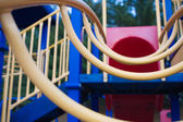 Climbing ladder at a childs playground. — Stock Photo