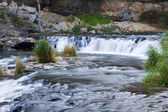 Beautiful River Rapids in Wisconsin. — Stock Photo
