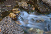 Waterfall at the river — Stock Photo