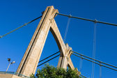 Hennepin Avenue Suspension Bridge — Stock Photo