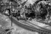 Model Railroad Scene — Stock Photo