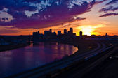 St. Paul Sunset — Stock Photo