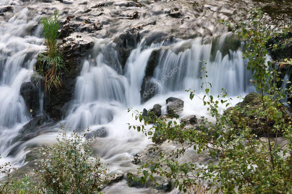 Вышивка крестом схемы водопады