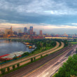 Cityscape panorama of St. Paul Minnesota — Stock Photo