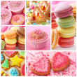 Colorful cakes — Photo