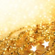 Gold abstract holiday lights — Stock Photo #5445100
