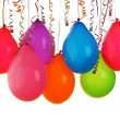 Colorful balloons — Stock Photo #5446293