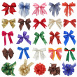 Bows collection — Stock Photo