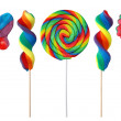 Colorful lollipops — Stock Photo