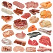 Stock Photo: Meat collection