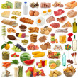 Food collection — Stock Photo