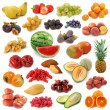 Fruits collection — Foto Stock