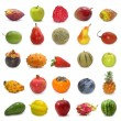 Fruits collection — Stock Photo