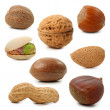 Stock Photo: Nuts collection