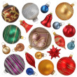 Christmas ornaments — Stockfoto #5451828