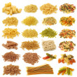 Pasta collection — Stock Photo
