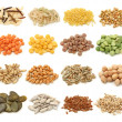 Cereal,grain and seeds collection — Stock Photo #5451913