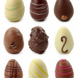 Chocolate eggs — Stock Photo #5451920