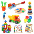 Stock Photo: Toys collection