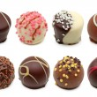 Chocolate truffles — Stockfoto #5451978