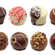 Stockfoto: Chocolate truffles