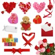 Valentine's day collection — Stock Photo