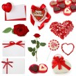 Valentine collection - Stock Photo
