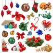 Foto de Stock  : Christmas collection