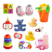 Baby collection — Stock Photo
