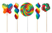 Colorful lollipops — Foto de Stock