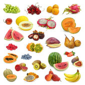 Mixed fruits collection — Stock Photo