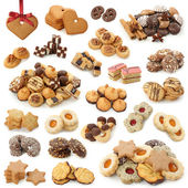 Christmas cakes collection — Stock Photo